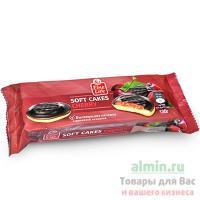 Печенье бисквитное 135г FINE LIFE с вишневой начинкой 1/1