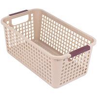 Купить корзинка дхшхв 305х173х125 мм пластик коричневая bora 1/48 в Москве