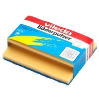 Купить губка для мытья посуды профилированная дхш 180х140 мм с синим абразивом поролон желтая vileda 1/44 в Москве