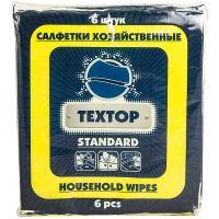 Купить салфетка универсальная вискозная дхш 350х300 мм 6 шт/уп standart textop 1/75 в Москве