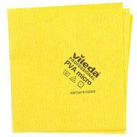 Купить салфетка микроволоконная дхш 380х350 мм пва микро желтая vileda 1/5/100 в Москве