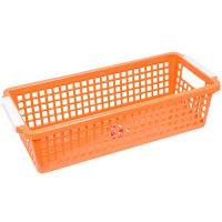 Купить корзинка дхшхв 283х120х74 мм пластик оранжевая bora 1/60 в Москве