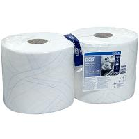 Купить материал протирочный бумажный 2-сл 170 м в рулоне н235хd262 мм tork premium белый sca 1/2 в Москве