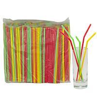 Купить соломка (трубочка) для коктейля н210хd5 мм 250 шт/уп pp цветная 1/48 в Москве