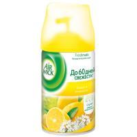 Купить освежитель воздуха автоматический 250мл air wick сменный баллон лимон и женьшень benckiser 1/6 в Москве