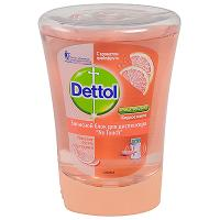 Купить мыло жидкое 250мл прозрачное грейпфрут dettol картридж для диспенсера benckiser 1/5 в Москве