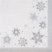 Купить салфетка бумажная 48х48 см 3-сл 50 шт/уп royal collection звезды papstar 1/5 в Москве