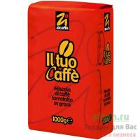 Кофе зерновой 1кг IL TUO CAFFE ZICAFFE 1/6