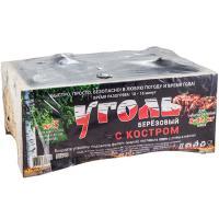 Купить уголь древесный 14л березовый уголь с костром 1/1 в Москве
