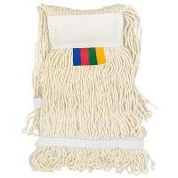 Купить насадка - моп (mop) для швабры веревочная прошитая kentucky 400 г хлопок vileda 1/50 в Москве