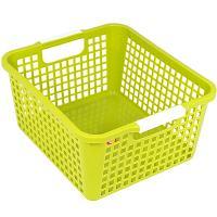 Купить корзинка дхшхв 258х223х125 мм пластик салатовая bora 1/48 в Москве