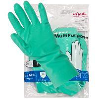 Купить перчатки хозяйственные xl многоцелевые латекс зеленые vileda 1/10/50 в Москве