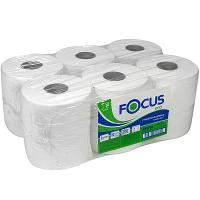 Купить бумага туалетная 1-сл 200 м в рулоне*12 н95хd180 мм focus jumbo eco белая hayat 1/1 в Москве